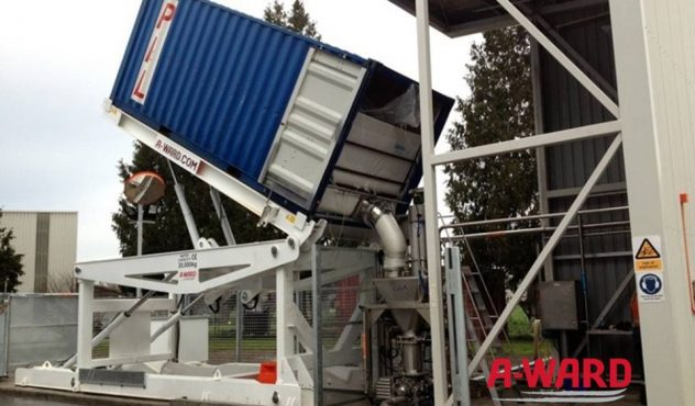 Container unloader 20 feet