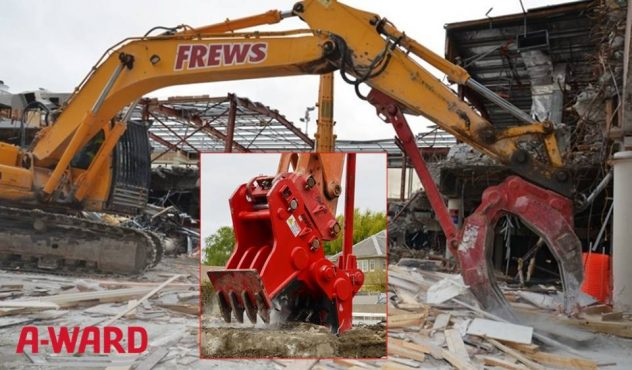 The best quality of A-Ward Escavator Attachment