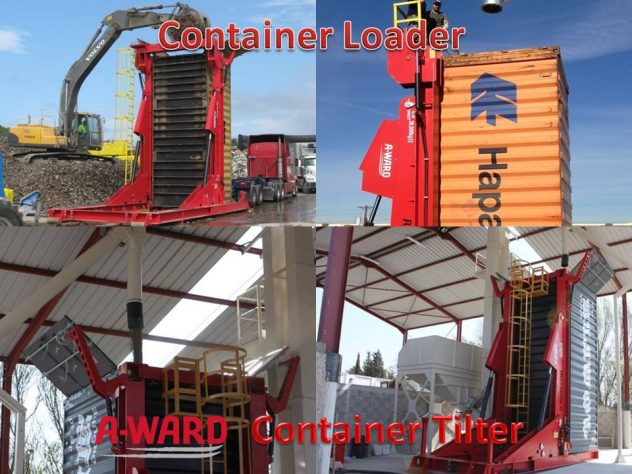 The Best Tilter 20-40 FT Container Loader