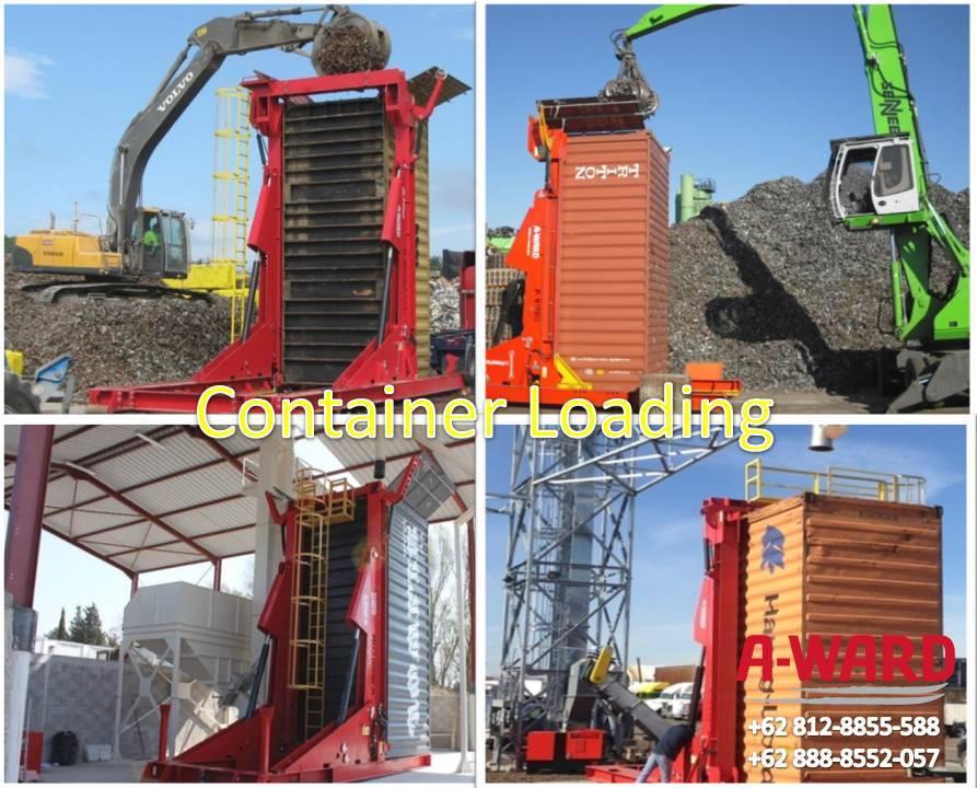 Container Loading untuk Pemuatan Bungkil Sawit