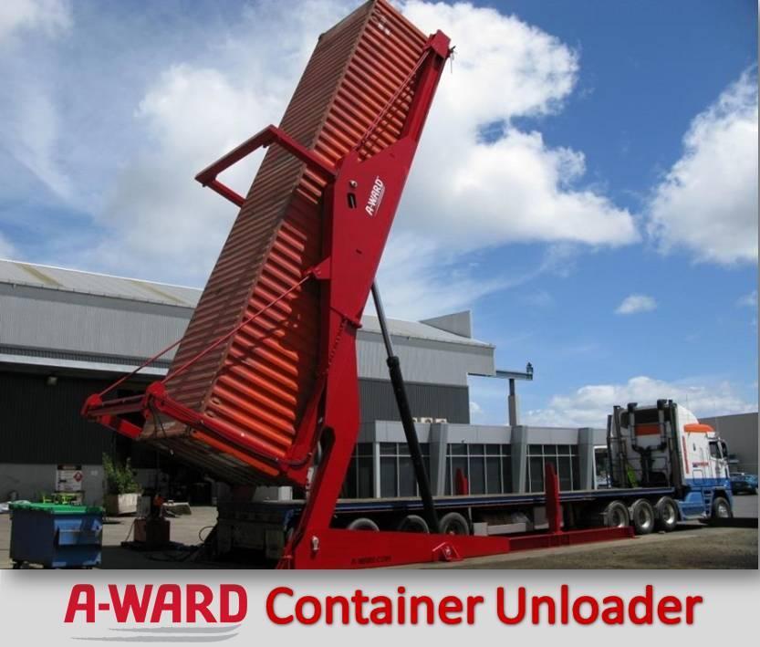 Container Unloader bongkar muat lebih cepat