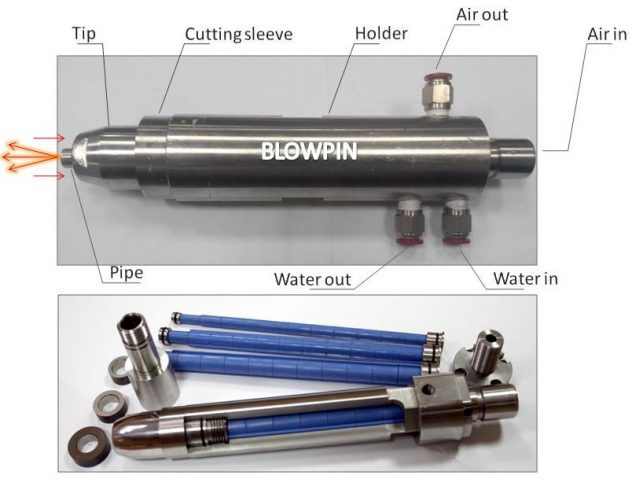 Blowpin - Blow mould tooling