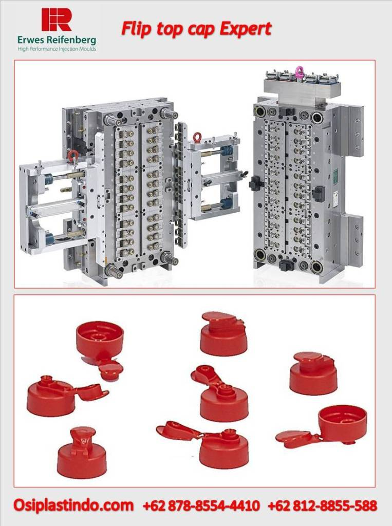Flip Top Cap Injection Mould Expert