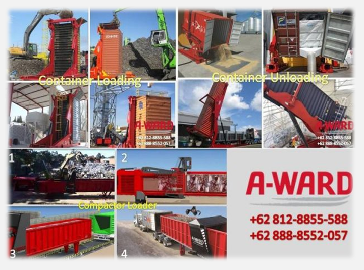 Container Tilter Manufacture A-Ward Have Agent in Indonesia