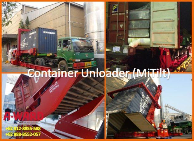 Alat Bongkar Muat container unloader Curah Kering