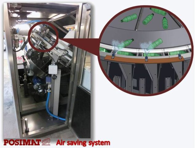 Posimat Air Saving System