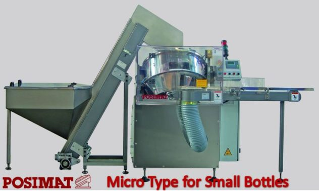 Unscrambler Manufacturer Micro type for small bottles