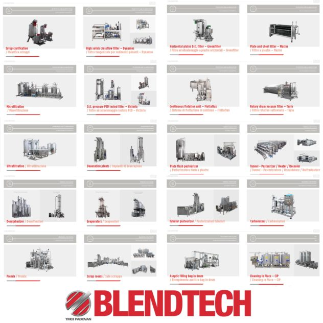 Blendtech Complete process in the food and beverage technology
