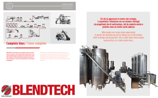 Blendtech are fruit juice and soft drink technology support specialist