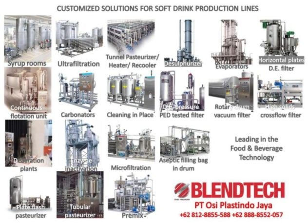 Soft Drink Equipment Supplier the best brand