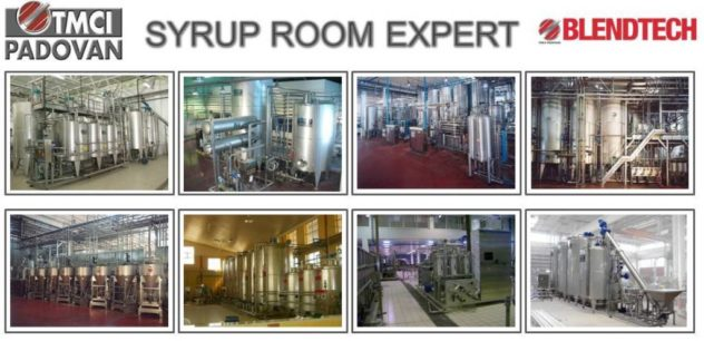 Syrup Room Equipment by Blendtech are installed worldwide
